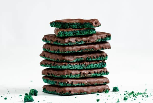 Chocolate Spirulina Brittle