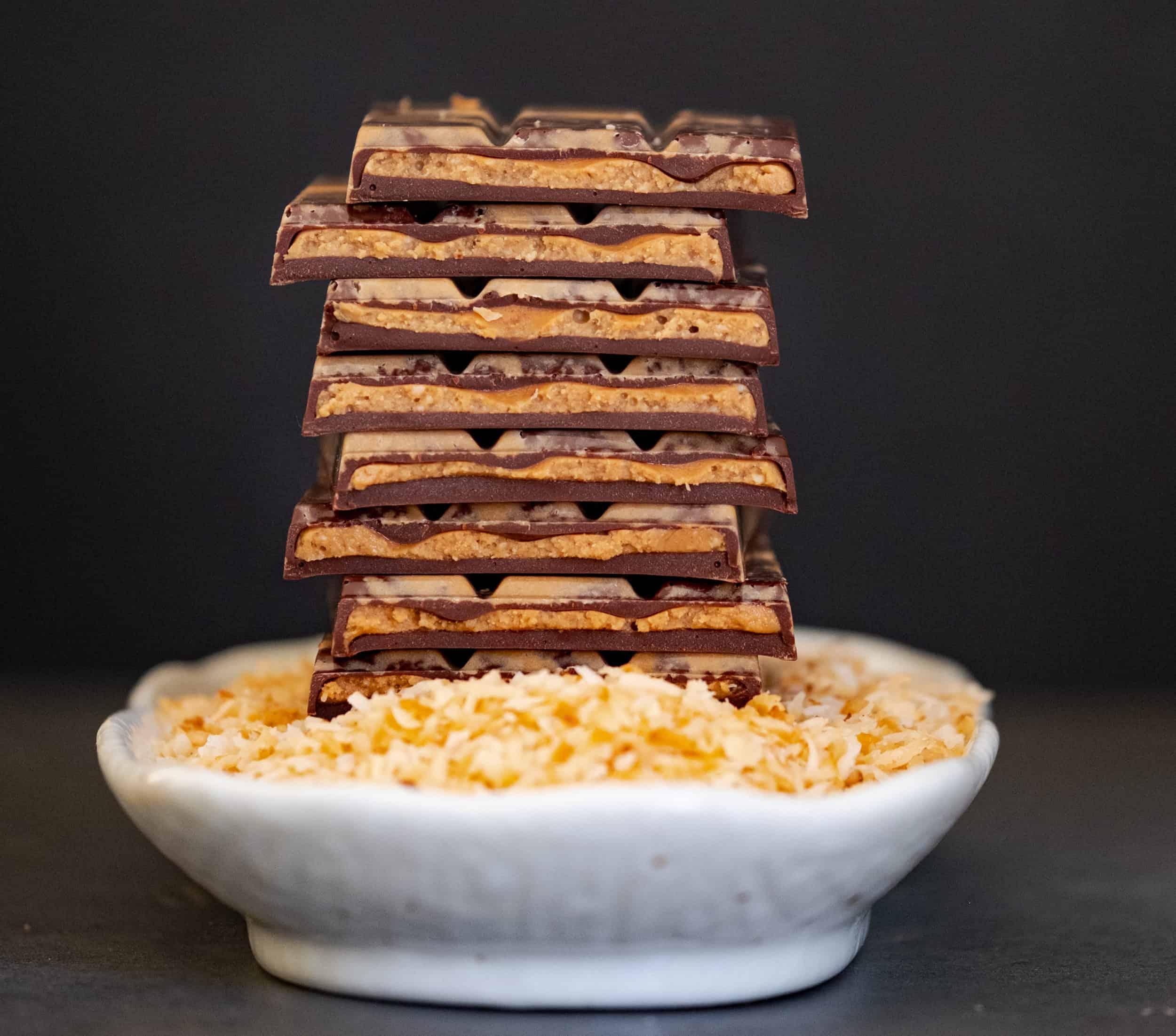 Toasted Coconut Chocolate Bar