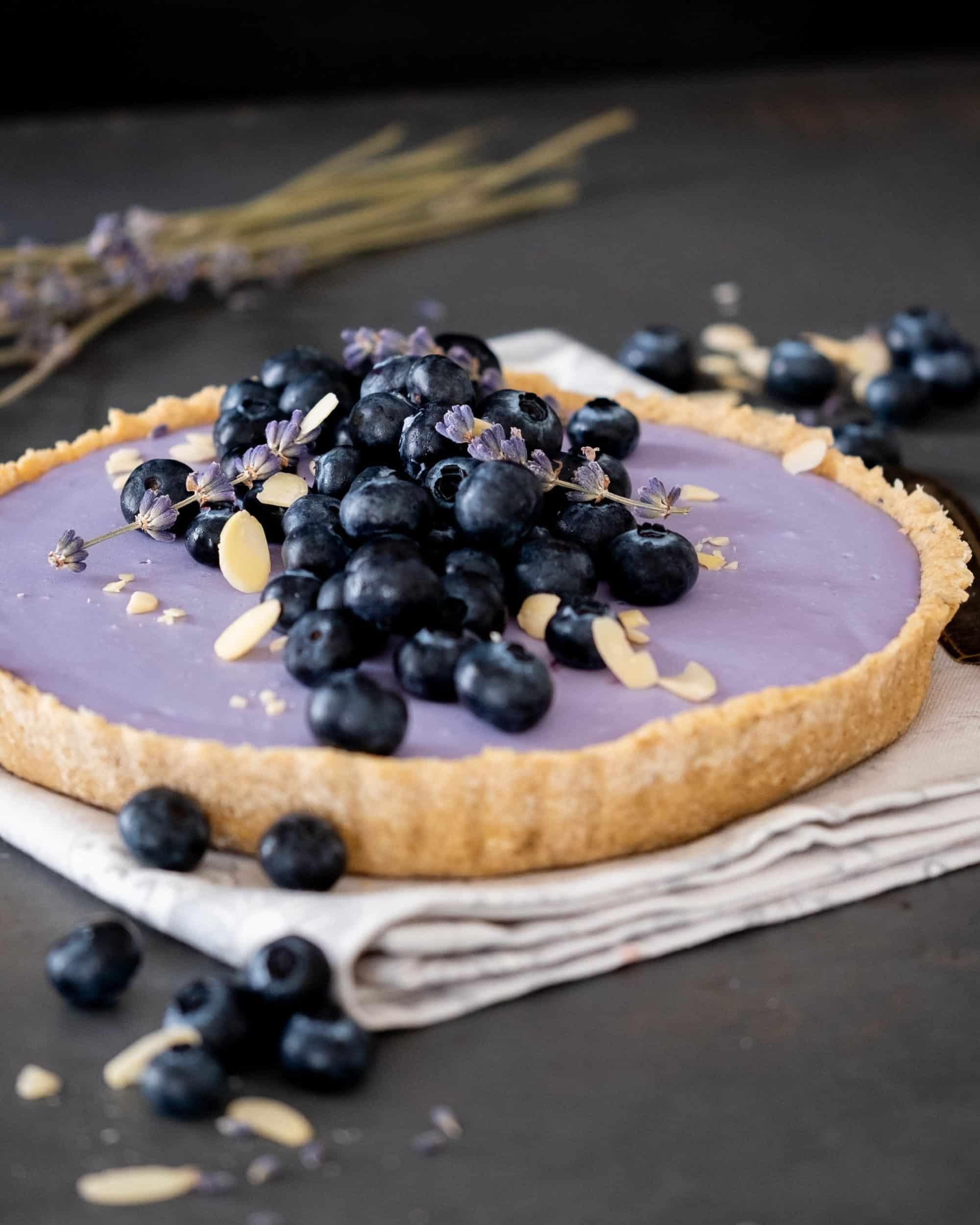 Lavender Cream Tart