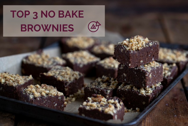 TOP 3 NO BAKE BROWNIES