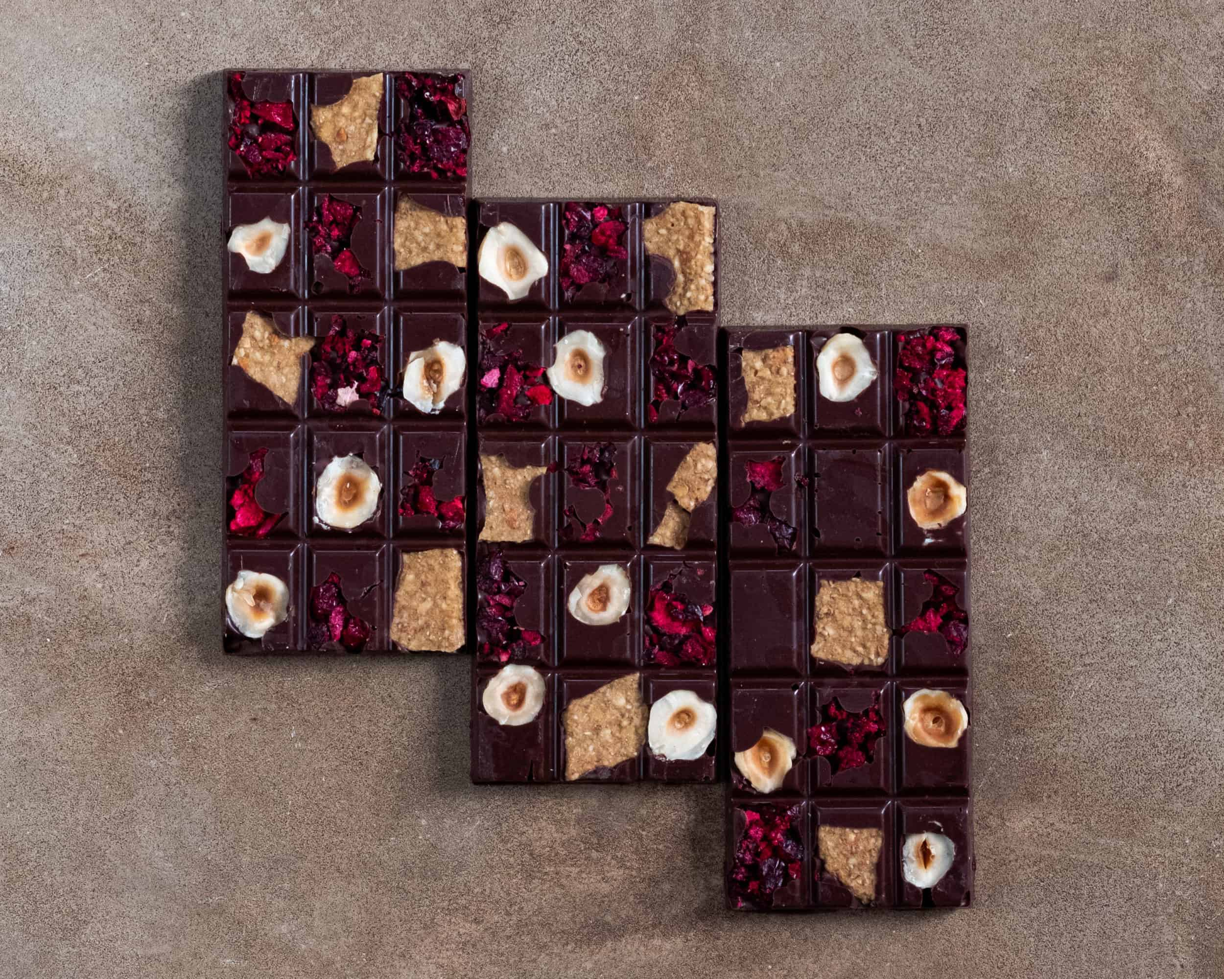 Textured Chocolate Bars