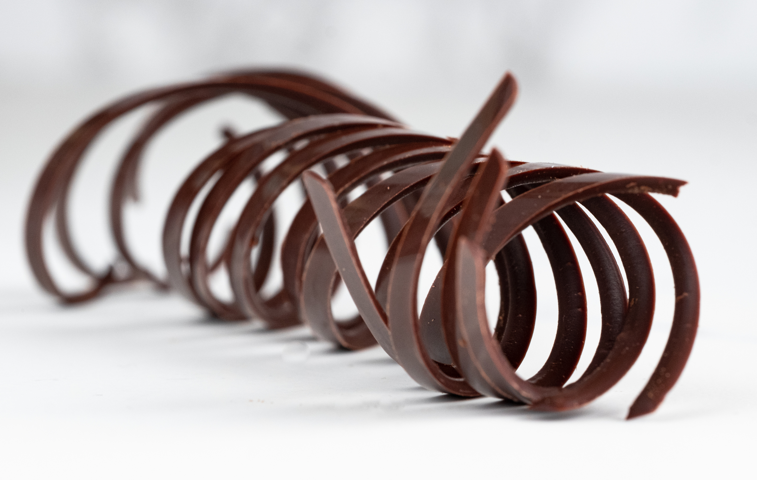 Delicate Chocolate Curls