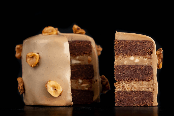Chocolate Hazelnut Layer Cake